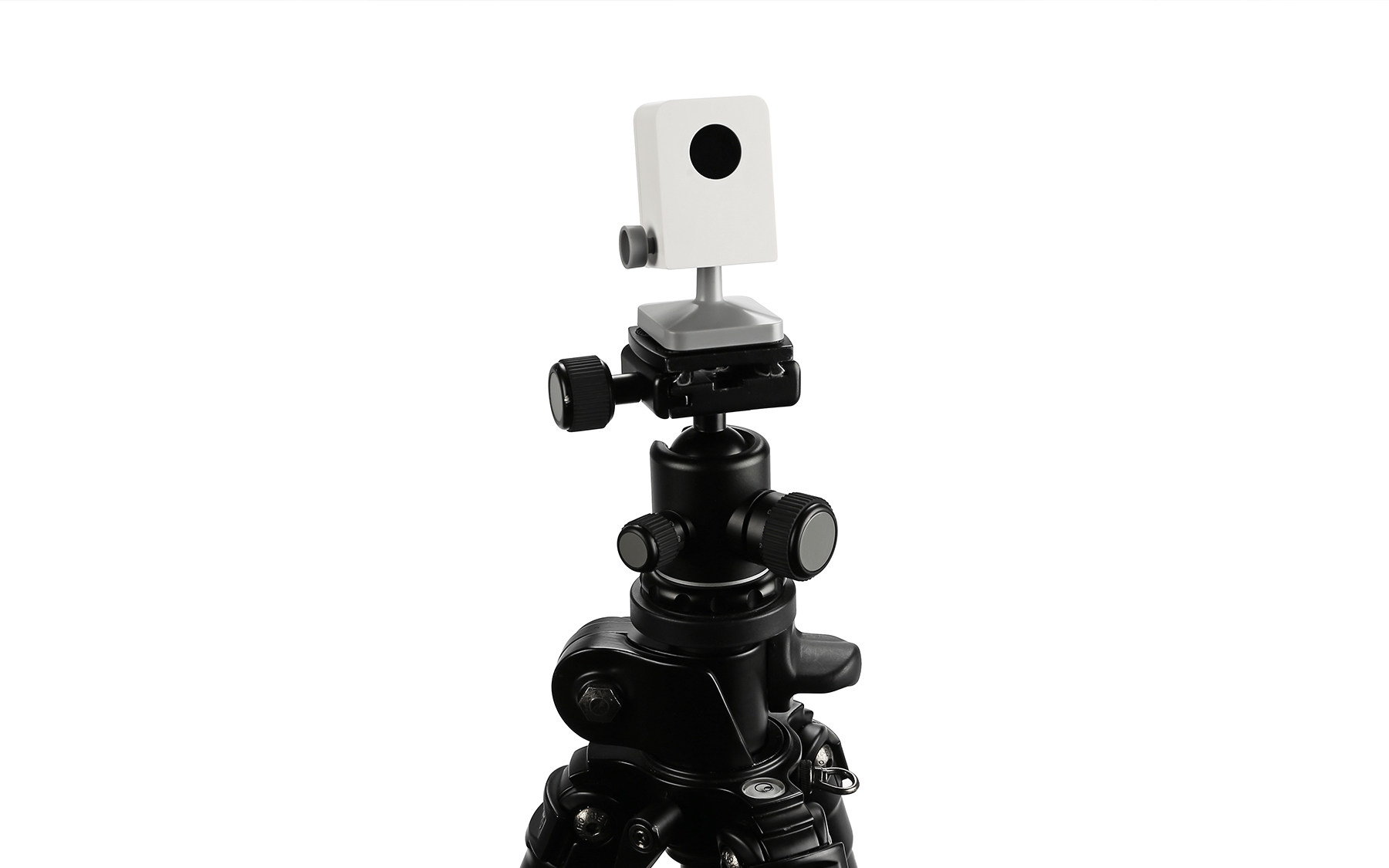 Standard tripod mount thread can be used with the Sensor Cam